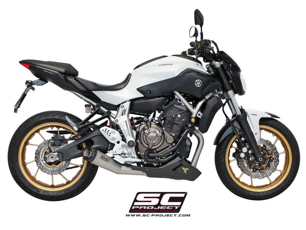 sc project escape completo mt07 13 16 full control motos. Black Bedroom Furniture Sets. Home Design Ideas